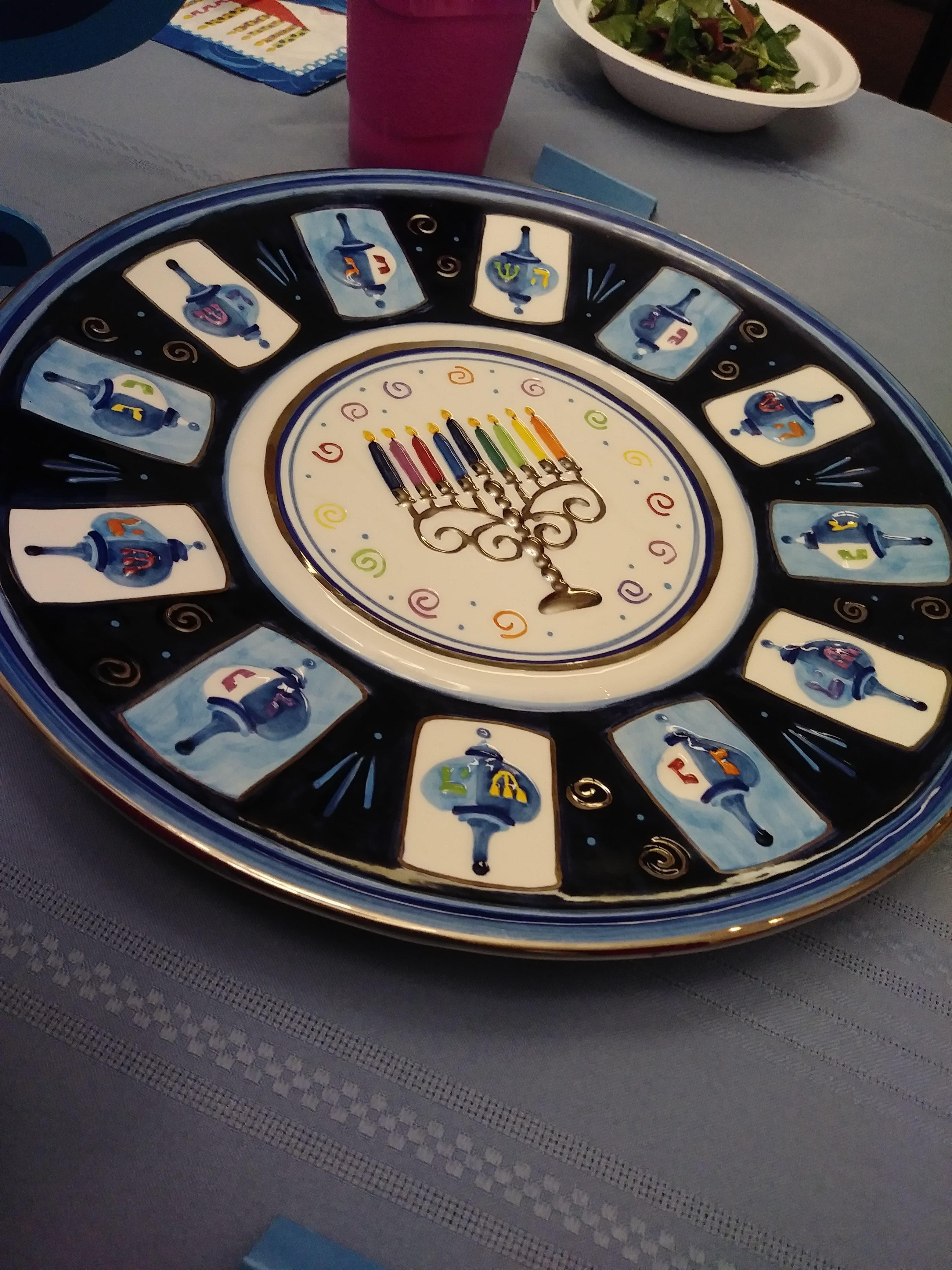 "About one of Jewish holidays ""Hanukkah"""