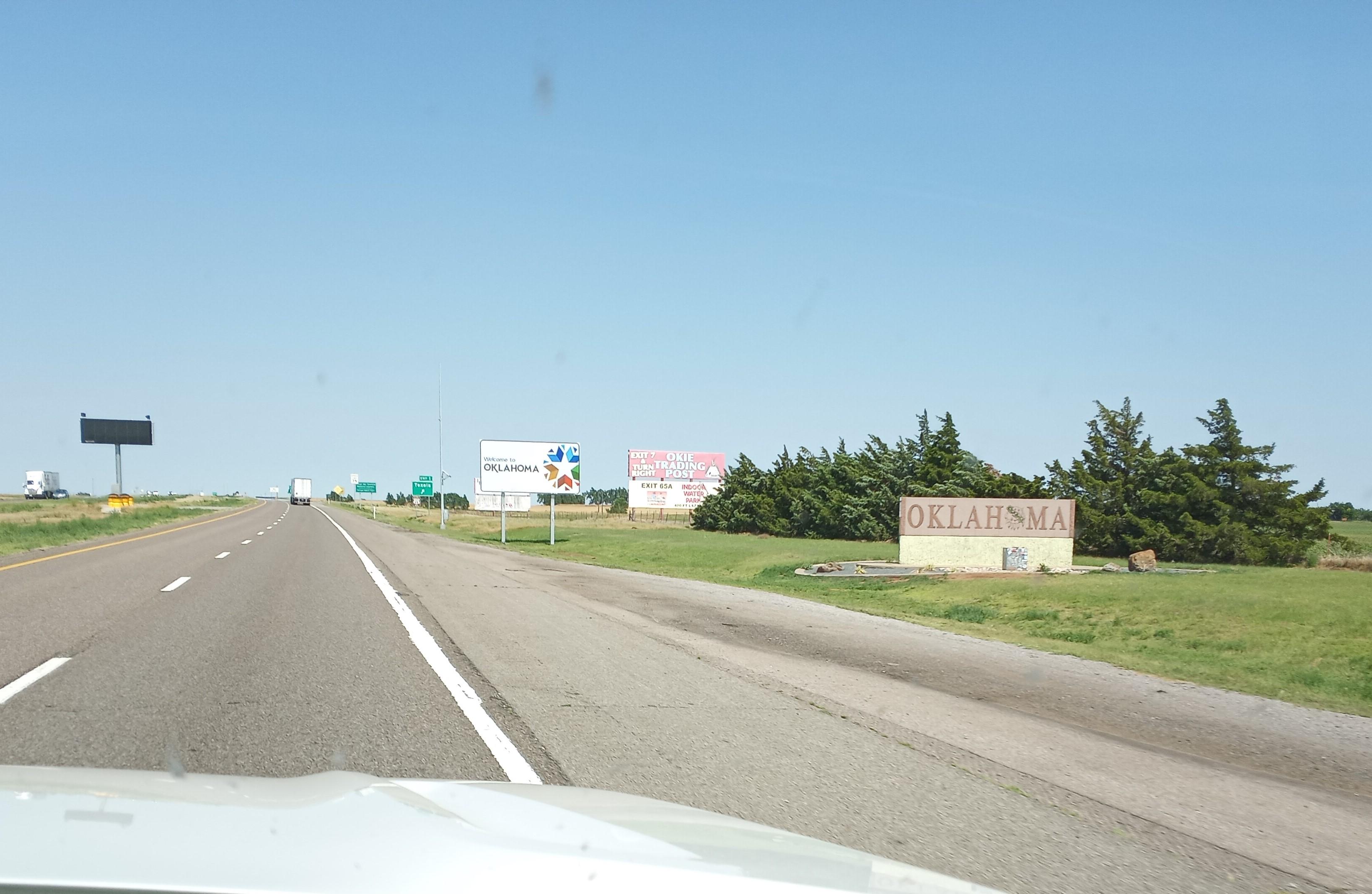 Road Trip to East Coast ~ El Reno, Oklahoma ~